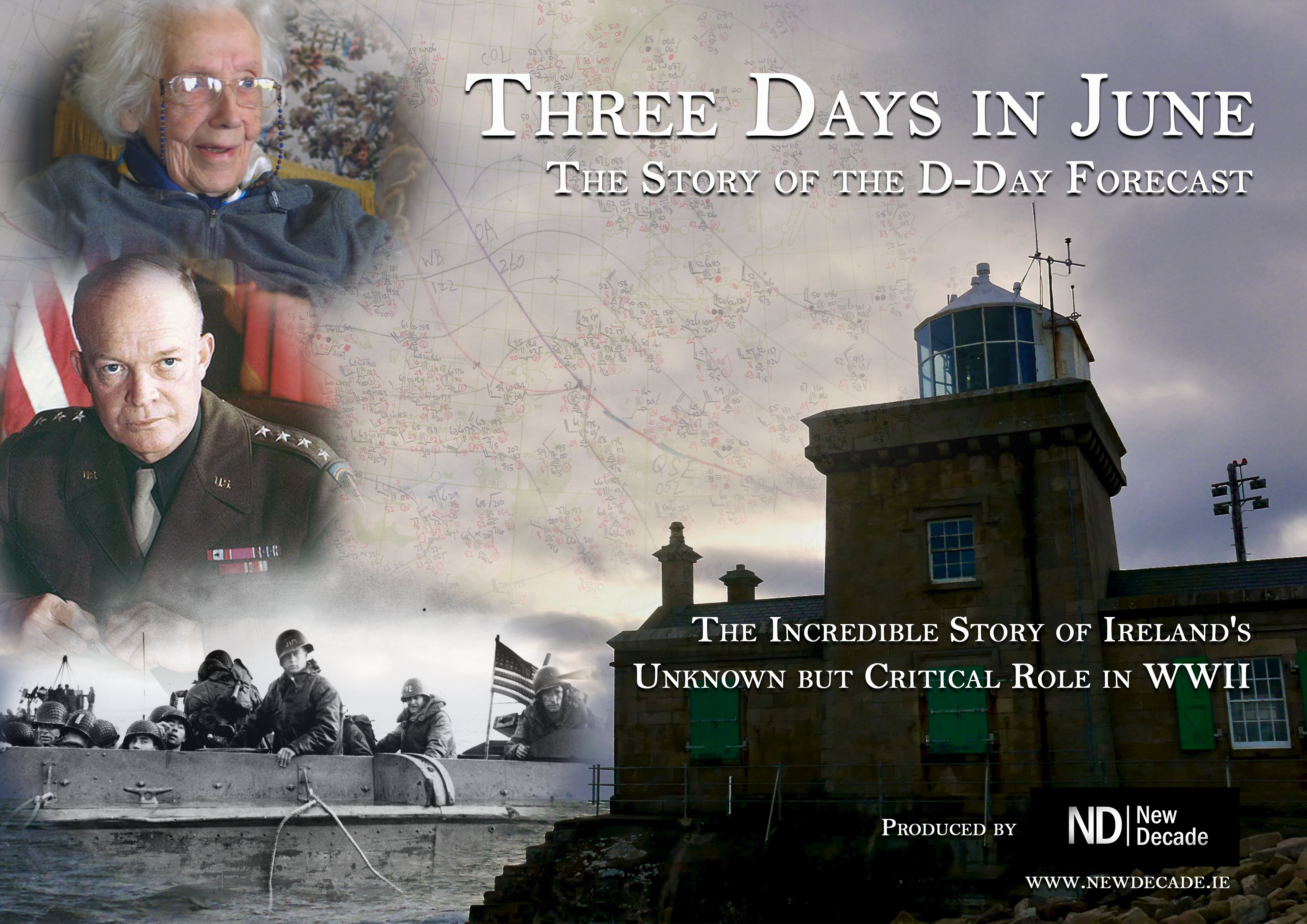 """Storm Front in Mayo – The Story of the D-Day Forecast"" – RTÉ One, Thurs 6th June 2019"