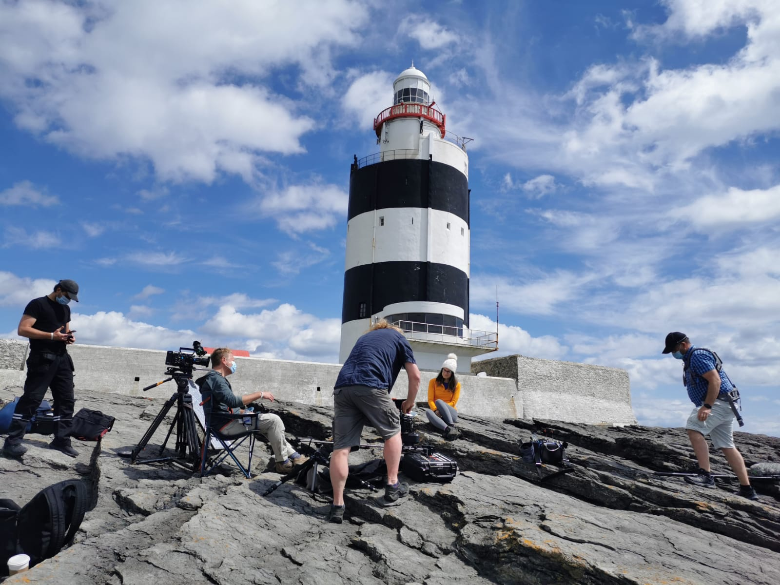 """Cameras roll on """"The Island – 1.8 Billion Years in the Making"""" with Liz Bonnin"""